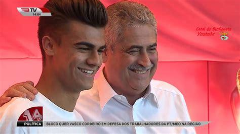 João Filipe  Jota  Renova Pelo Benfica Até 2022 HD   YouTube