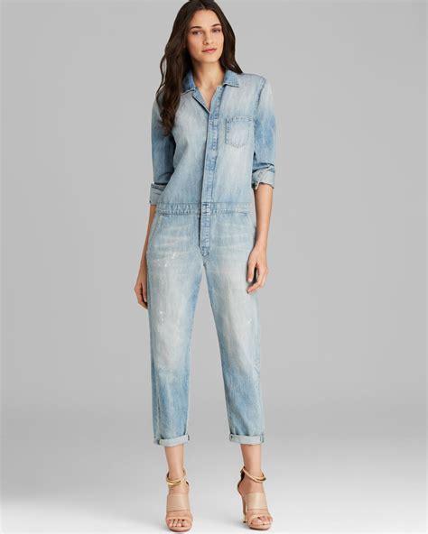 Joe s Jeans Jumpsuit Relaxed Denim in Blue   Lyst