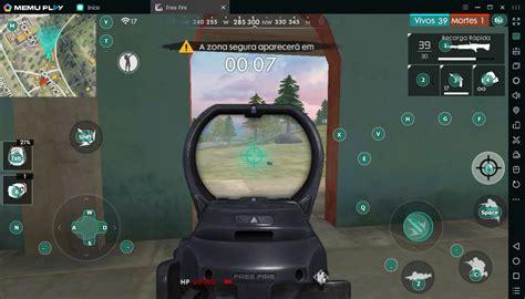 Jogar Free Fire PC fraco   MEmu Android Emulator