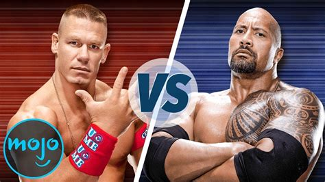 John Cena vs The Rock   YouTube