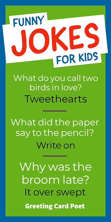 Jokes For Kids To Make Them Laugh   Greeting Card Poet