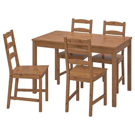 JOKKMOKK Table and 4 chairs, antique stain   IKEA Ireland