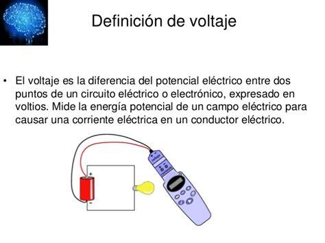 Jonathan Jaime Valencia  refrigeración  : Concepto de voltaje