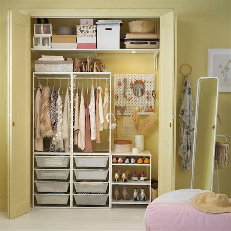 JONAXEL Barra armario regulable, blanco, 46 82 cm   IKEA