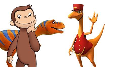 Jorge el Curioso, Largo y Corto, Dinotren Juegos con Jorge ...