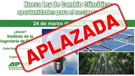 Jornada APPA   Nueva Ley de Cambio Climático ...