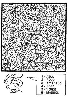 JORNAL PONTO COM: MOSAICOS PARA COLORIR.   Mosaico e ...