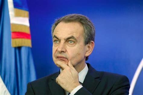 José Luis Rodríguez Zapatero pide a la oposición ...