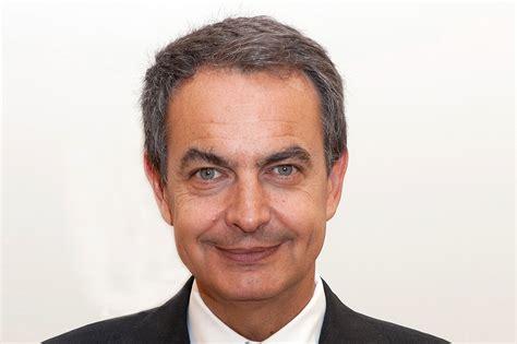 José Luis Rodríguez Zapatero, presidente del Gobierno de ...