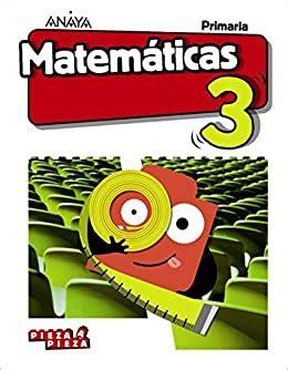 José Miguel del Félix: Matemáticas 3º