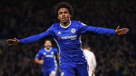 Jose Mourinho targets Chelsea s Willian for Man United ...