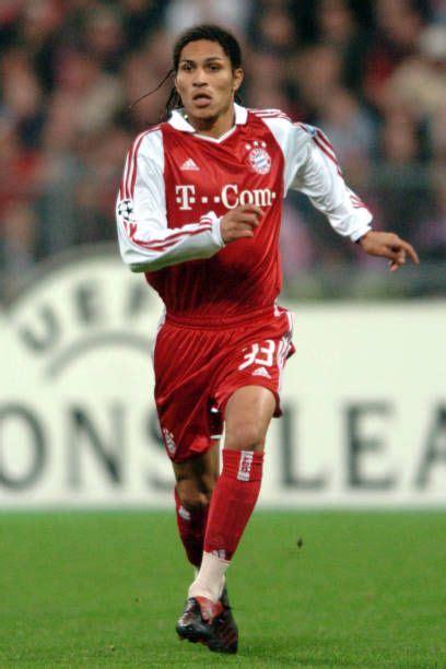 Jose Paolo Guerrero, Bayern Munich November 03, 2004 ...