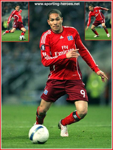 Jose Paolo Guerrero   UEFA Pokel 2008/09   Hamburger SV