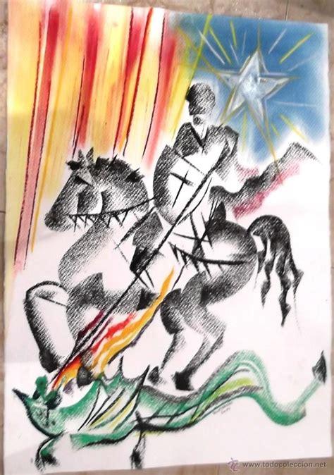 josep maria hontangas   dibujo a ceras   sant j   Comprar ...