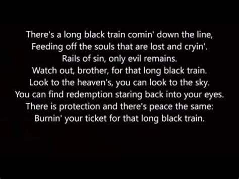 Josh Turner Long Black Train Lyrics   YouTube