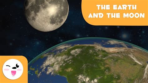 Journey to the Earth and Moon   Space for Kids   YouTube
