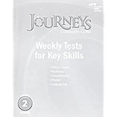 Journeys: Common Core Weekly Assessments Grade 2 by ...