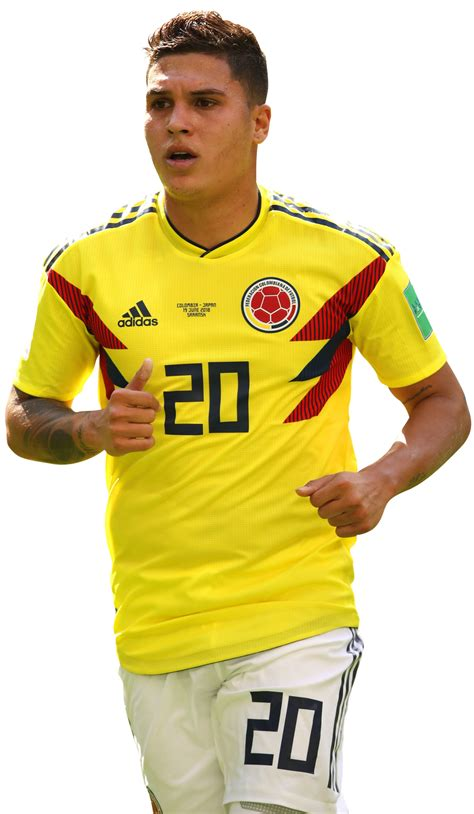Juan Fernando Quintero football render   47509   FootyRenders