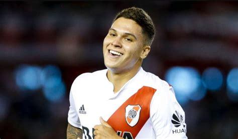 Juan Fernando Quintero regresó a entrenamientos con River ...