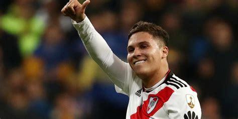 Juan Fernando Quintero se convirtió en el héroe de River Plate