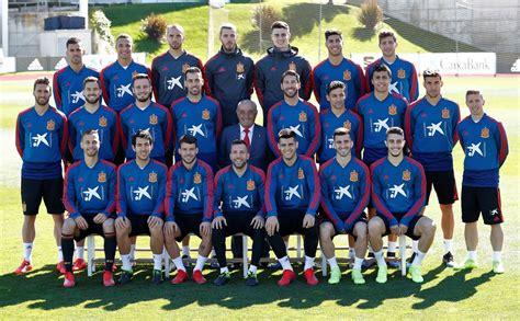 Juan José Hidalgo visita a la selección española de fútbol