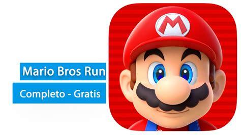 Juega Super Mario Bros Run completo y gratis en tu iPhone ...