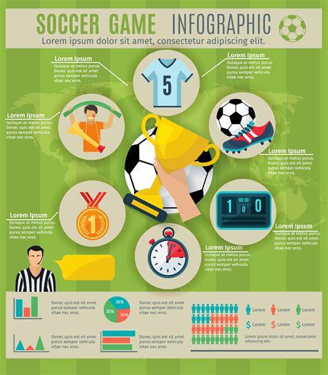 Juego de infografía de fútbol   Descargar Vectores Gratis ...