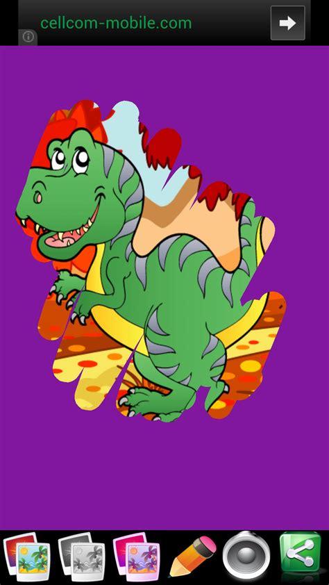Juegos de dinosaurios para los niños   Diversión y Jigsaw ...