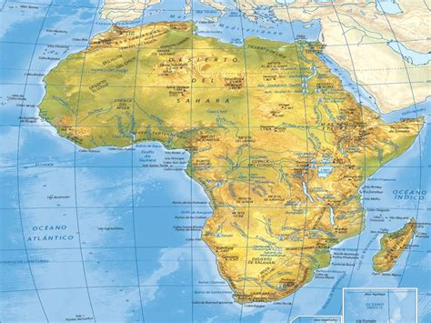 Juegos de Geografía | Juego de África físico #2 | Cerebriti