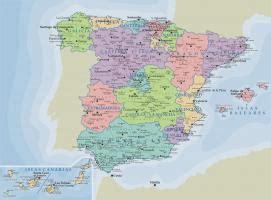 Juegos de Geografía | Juego de Relieve España  Ríos ...