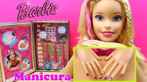 Juegos de Manicura para niñas   Juguetes de Barbie en ...