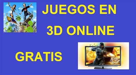 Juegos en 3D Online y Gratis para PC JugarconJuegos.com