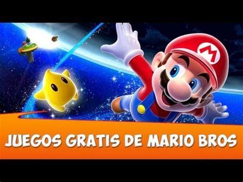 Juegos Gratis de Mario Bros   YouTube