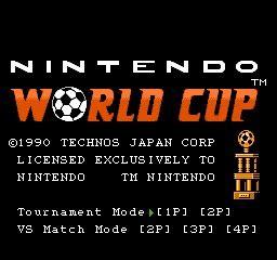 Juegos Terminados: Nintendo World Cup  NES