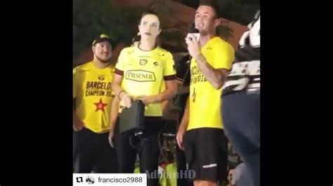 Jugadores de Barcelona insultan a los de Emelec en ...