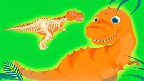 Jugando con Dinosaurios   Divertidos Dibujos para Niños ...