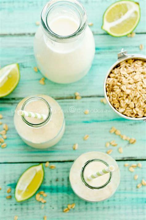 Jugo de Avena Recipe  Oats and Milk Drink  | Rezept | Essen