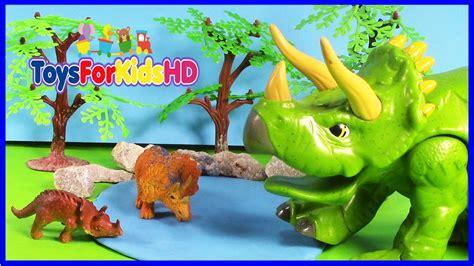 Juguetes de dinosaurios para niños   Videos de Dinosaurios ...