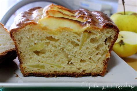 JULIA Y SUS RECETAS: Bizcocho de manzana sin azúcar