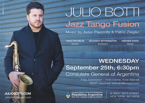 Julio Botti actuará mañana en el Consulado General ...