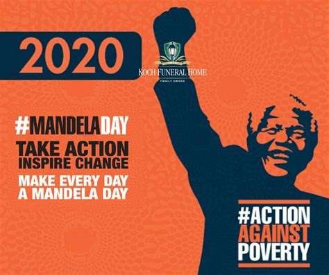 July 18 2020   Nelson Mandela International Day | Koch ...
