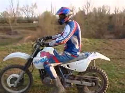 Jumping a Suzuki DR 650 at Motocross track !   YouTube