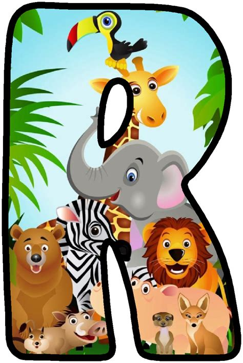 Jungle Animals Clipart   Free download on ClipArtMag