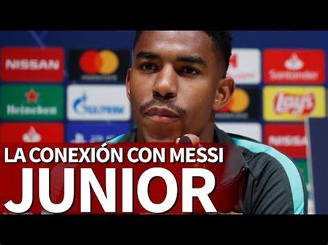 Júnior Firpo:  Messi y yo estamos en el punto de ...