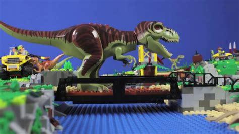 JuraBrick Park   LEGO  DINO stopmotion   YouTube