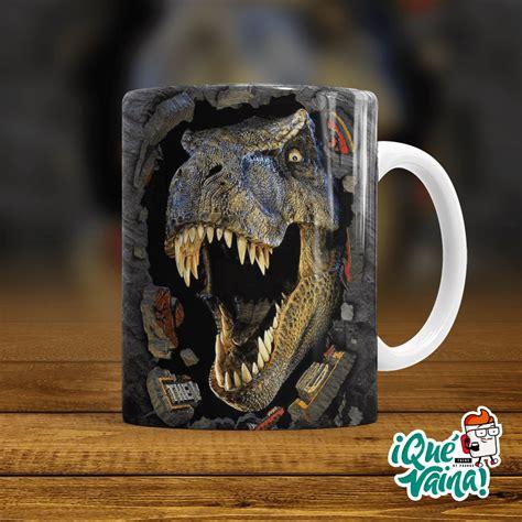 Jurassic Park 003 – Qué Vaina! Tazas