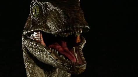 Jurassic Park 1:1 Raptor Bust   YouTube
