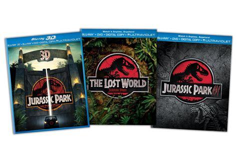 Jurassic Park Blu ray Trilogy only $32.99  reg $85.94 ...