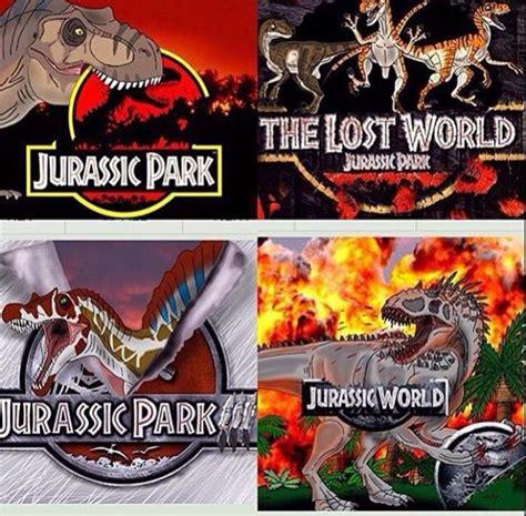 Jurassic Park Film Order   PARKS THEME