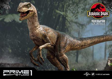 Jurassic Park  Film  Velociraptor Open mouth by Prime1 ...